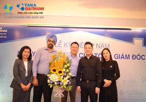 Tưng bừng lễ kỷ niệm 2 năm ngày nhậm chức của Tổng Giám đốc Tập đoàn Tân Á Đại Thành 5