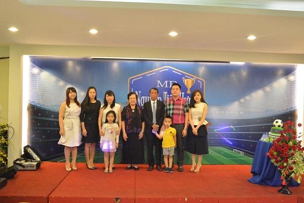 Tưng bừng lễ kỷ niệm ngày sinh PTGĐ Nguyễn Tiến Hưng 1