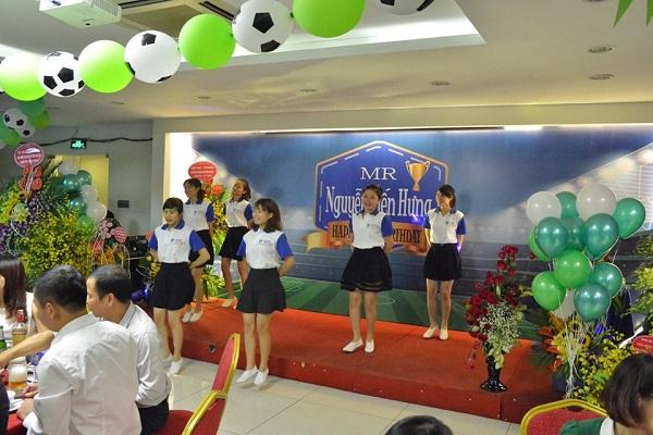 Tưng bừng lễ kỷ niệm ngày sinh PTGĐ Nguyễn Tiến Hưng 5