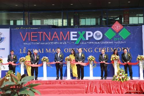 Vietnam Expo - cơ hội giao thương cho doanh nghiệp 1