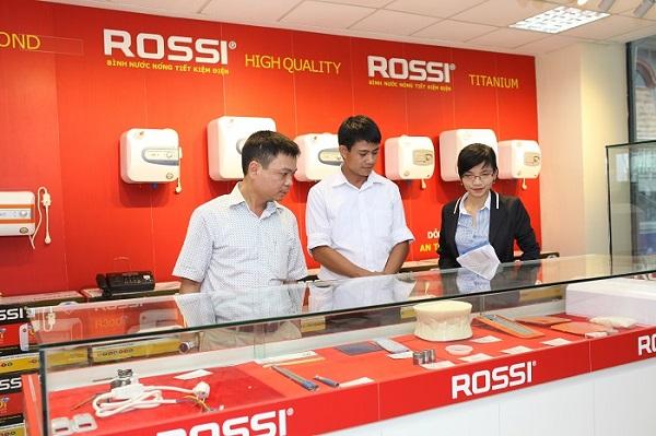 Bình nước nóng Rossi tiết kiệm tới 15% điện năng tiêu thụ