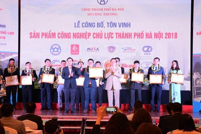 05 sản phẩm của Tân Á Đại Thành được chứng nhận sản phẩm công nghiệp chủ lực