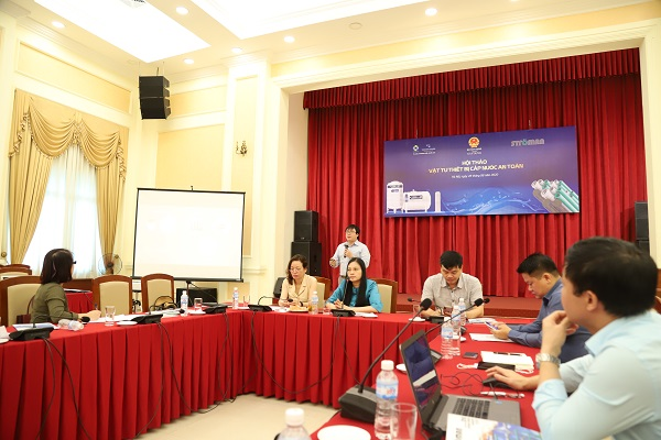 Tân Á Đại Thành chung tay cung cấp giải pháp bền vững về cấp nước an toàn