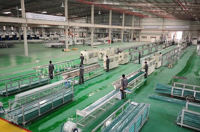 Nhà máy sản xuất ống nhựa Ströman đều được đầu tư đồng bộ, hiện đại từ hạ tầng cơ sở đến hệ thống máy móc