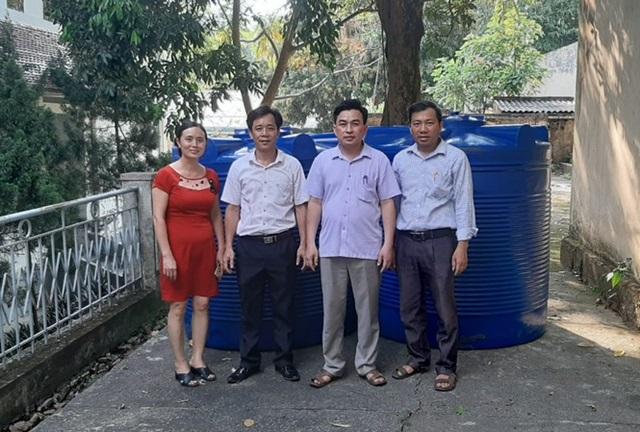 Hàng chục máy lọc nước sạch về với trẻ em vùng núi Thanh Hoá
