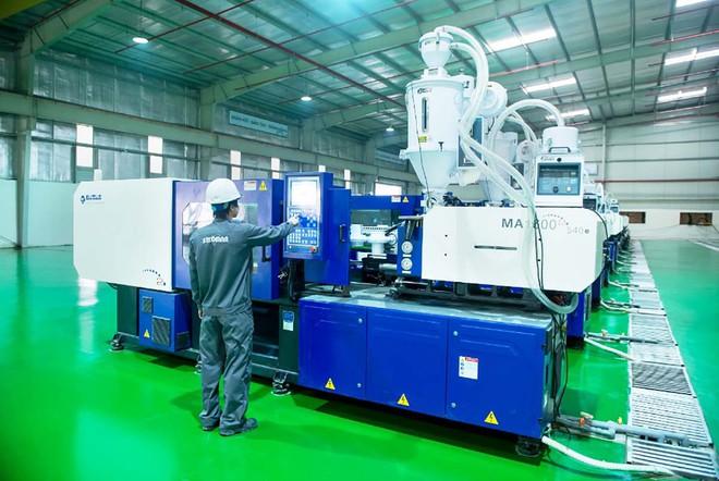 Dây chuyền công nghệ đồng bộ, tiên tiến giúp sản phẩm ống nhựa đồng đều và chính xác