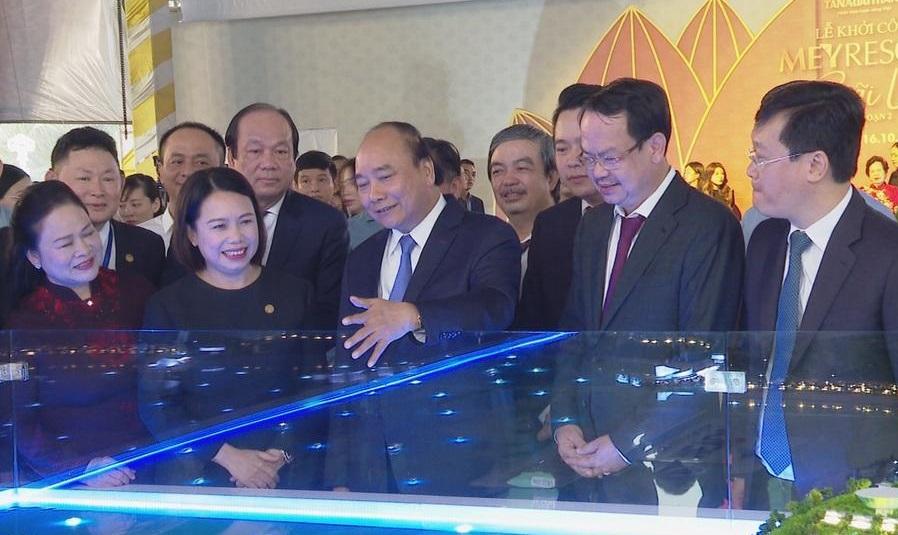 Thủ tướng Chính phủ dự Lễ khởi công dự án Meyresort Bãi Lữ giai đoạn 2