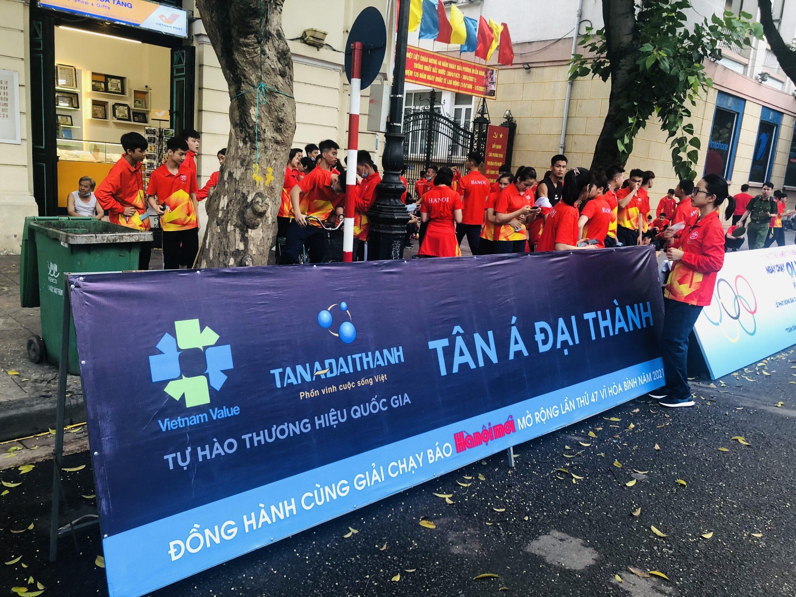 Tân Á Đại Thành đồng hành Giải chạy Báo Hànộimới mở rộng lần thứ 47 – Vì hòa bình năm 2021